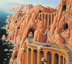 Jacek YerkaJacek Yerka is a Polish painter of fantasy world and landscapes.