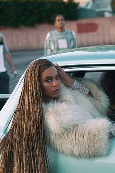Les box braids fines de Beyoncé