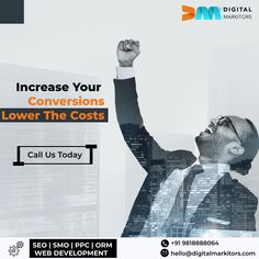 Not getting the desired outcomes from your PPC campaigns and SMO? Do not worry when Digital Markitors is here to help you with 'low investment' strategies to provide you with the maximum returns. For details, call us on +91-9818888064.  #SMO #PPCCampaigns #LeadGeneration #SEO #PPC #SEOStrategies #ROI #Adwords #DigitalMarkitors #SEM #DiitalMarketingAgencyDelhi #SEOCompanyDelhi S Mo, Seo Company, Lead Generation, Web Development, No Worries, Digital Marketing, Investing, Campaign