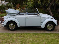 1968 Convertible Bug California Car Beach Cruiser