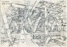 Anime_Architecture_House_of_Illustration_itsnicethat6.jpg (724×515)