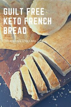 Think bread is no-no on Keto? Try this tasty healthy low carb French bread recipe! Think bread is no-no on Keto? Try this tasty healthy low carb French bread recipe!