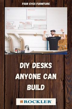 In this video, Chris Salamone will be demonstrating how to build two DIY desks. Watch the build video here!  #createwithconfidence #diydesk #foureyesfurniture #desk