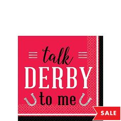 Kick off the Triple Crown with Kentucky Derby Party Supplies, offering tableware, race horse decorations, party favors, and more. Kentuky Derby, Horse Party Supplies, Beverage Napkins, Kentucky, Party Favors, Red, Princess Party Favors, Wedding Keepsakes, Party Gifts