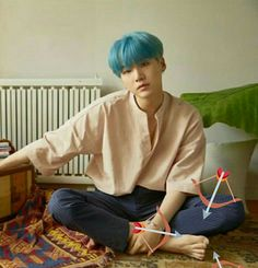 He's cute... Look at his toe 😃#suga #BTS #love_yourself