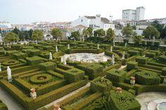 Jardim do Paço Episcopal - Castelo Branco Portugal