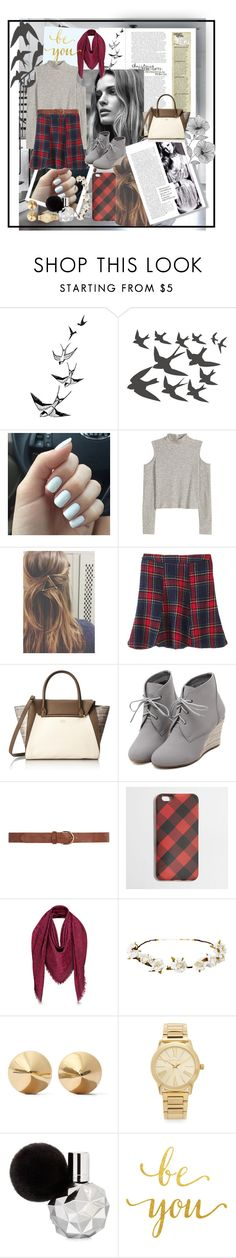 """Express Yourself"" by tiffanytma ❤ liked on Polyvore featuring ADZif, Post-It, Vince Camuto, WithChic, Dorothy Perkins, J.Crew, Cult Gaia, Eddie Borgo, Michael Kors and WallPops"