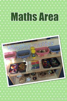 Maths Area- Continuous Provision Math Resources, Math Activities, Maths Area, Continuous Provision, New Class, Numeracy, Enabling, Mathematics, Montessori