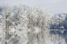 Winter hiking at Pictured Rocks National Lakeshore, Michigan, USA