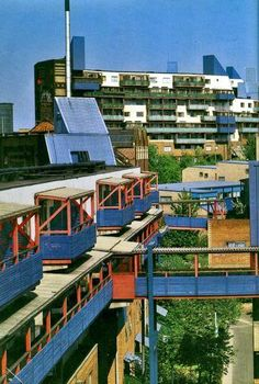 The Byker Wall, Newcastle upon Tyne, Tyne & Wear, England