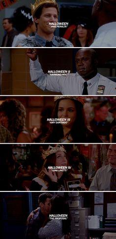 —brooklyn nine-nine ★: halloween heist winners