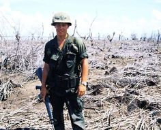 9TH INFANTRY DIVISION Bombed area South of Saigon on China Sea -1968.