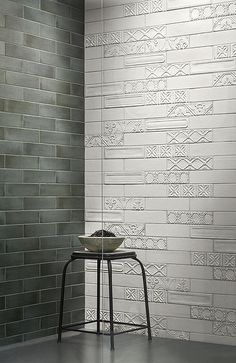 Eden Brick Effect Tiles by Ragno from Tubs & Tiles Brick Effect Tiles, Tub Tile, Lake Cottage, Blinds, Curtains, Lighting, Vintage, Design, Tubs
