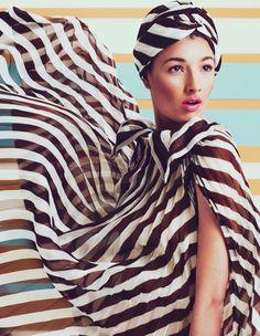 Debora Muller: How to Spend It July '11- zebra