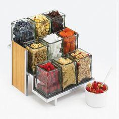 Descanso-Cocina Utensilio Con Soporte-Cool Cocina Gadget Abrazo Doug Cuchara soporte