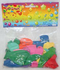 """25 palloncini in lattice colori assortiti con stampa """"40"""", per festeggiare e addobbare no solo i 40 anni di compleanno ma qualunque anniversario. By C&C Creations Store"""
