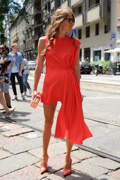 SÍ Y NO: Los looks del street style de las fashion weeks  Anna Dello Russo, Milan Fashion Week Hombres, SS14.