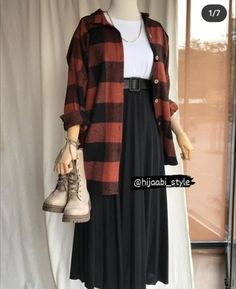 Modern Hijab Fashion, Muslim Fashion, Girls Fashion Clothes, Fashion Outfits, Long Skirt Fashion, Iranian Women Fashion, Stylish Outfits, Shopping, Vestidos