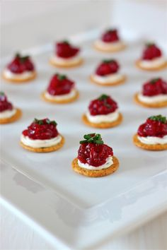 Cranberry, Dijon and Cream Cheese Appetizer