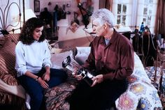Love this scene :D.. Father of the Bride (1991) - Kimberly Williams, Steve Martin #90smovies #fatherofthebride
