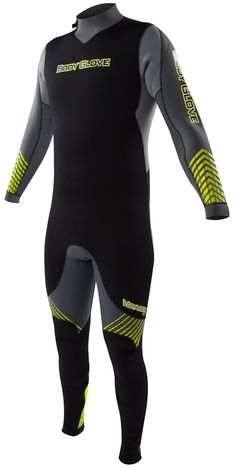 Body Glove Voyager 3mm Men's Backzip Fullsuit - Gray/LimeOne of the most popular wetsuits on the market, the Voyager has 3mm thick Evoflex neoprene throughout. The Voyager wet suit has a Thermolite insulation to help you stay warmer and it is made...
