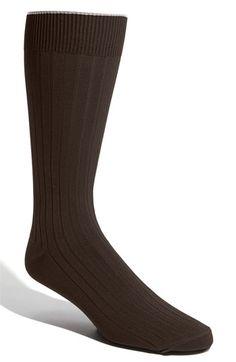 Men's Big & Tall Nordstrom Cotton Blend Socks