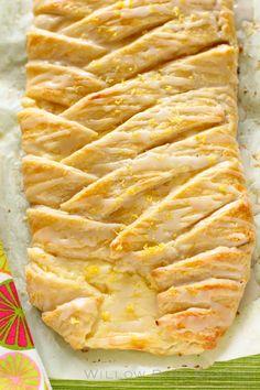 Lemon Cheesecake Braid from @julieruble
