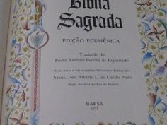 bíblia sagrada barsa 1972