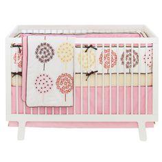Skip Hop Flower Burst Crib Bedding Set #hama