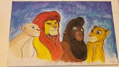 Disney Characters, Fictional Characters, Disney Princess, Painting, Art, Drawing S, Art Background, Painting Art, Kunst