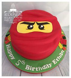 Lego themed Ninjago cake.