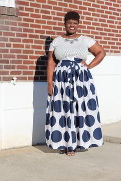 Jibri maxi skirt, Ann Taylor Loft shirt, Baublebar necklace & ON sandals