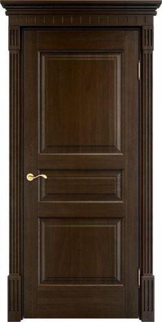 Дверь из массива, ЦВЕТ МОРЕНЫЙ, коллекция Модель Д5, межкомнатные двери Итальянская легенда