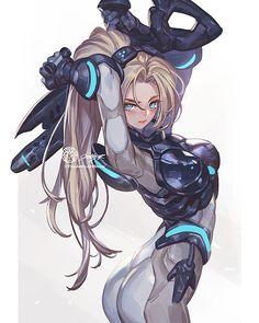 Nova from StarCraft 2 by thejettyjetshow Character Concept, Character Art, Concept Art, Character Design, Cyberpunk, Overwatch Widowmaker, Overwatch Fan Art, Starcraft 2, Stars Craft