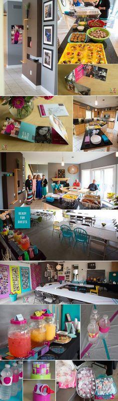 Party Ideas, Grad Open House, High School Senior, Jill VZ Photography, fun uses of washi tape