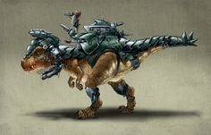 Dinosaurs with armour are super cool.