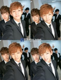 J-Hope & Taehyung, ROFL Jiminie in the background XD