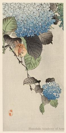 Japanese wood block print...imitation is a sincere form of flattery. I imagine the Lord might be flattered.