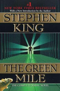Finally finished The Green Mile by Stephen King. It's a breakthrough for me, because: I finally read a Stephen King book (which I've be. Stephen King It, Steven King, I Love Books, Good Books, Books To Read, My Books, See Movie, Lectures, Film Music Books
