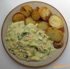 Czech Recipes, Ethnic Recipes, Potato Salad, Chicken Recipes, Food And Drink, Cooking Recipes, Menu, Tasty, Fitness