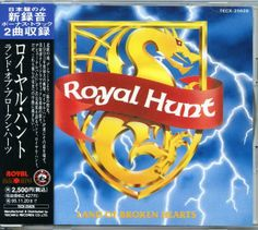 Royal Hunt Land Of Broken Hearts Japanese Ed 25/04/14