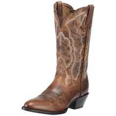 Ariat Brown Heritage Western Cowgirl Boots