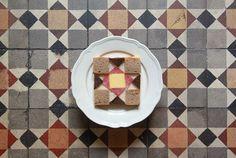 raspberrytart:        toast tile by virginhoney