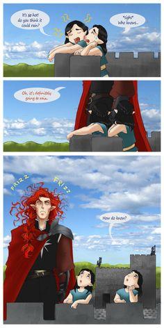 Элронд, Элрос и Маэдрос, который может точно предсказывать погоду по своим волосам))  My ol' enemy by greenapplefreak on DeviantArt