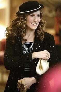 Carrie Bradshaw Sex aka.Sarah Jessica Parker has great fashion forward attire love her minolos!!!