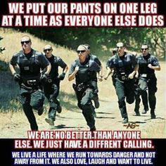 Most of the time, people attempting to become police officers focus on the written and oral exam portion of the tests. However, there is a physical exam you must pass as well. Cops Humor, Police Humor, Cop Jokes, Police Quotes, Police Lives Matter, Police Life, Military Police, Military Honors, Police Cops