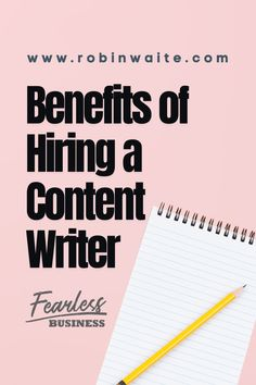 Everyone is capable of writing, to the point a large proportion of people would consider themselves more than capable of articulating something, especially if it's something they're passionate about. With that in mind, if you are running a business, why would you ever consider hiring a content writer? Here's the reasons why. #digitalmarketing #contentmarketing #content #online #media #blogging #blogwriting #business #smallbusiness #onlinebusiness Seo Marketing, Content Marketing, Media Marketing, Digital Marketing, Writing Goals, Blog Writing, Google Plus, Medium Blog, About Me Blog