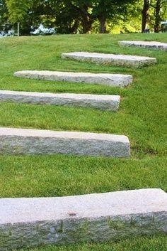 stairs in grass - Hledat Googlem
