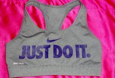 Just do it sports bra #nike