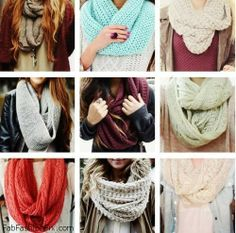 Style Guide: How to wear a scarf this winter